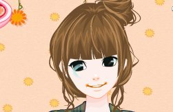 Autumn Girls Makeup