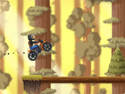 X Trial Racing Mountain Adventure